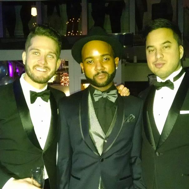 """""""Reno, Creator of Styl'd 4 Success, with the Co-Founders of YES International @ Styl'd 4 Success Event"""